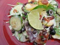 Layered Mexican Salad picture