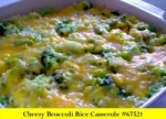Cheesy Broccoli Rice Casserole picture