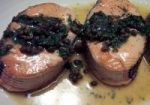 Baked Salmon with Caper Sauce picture