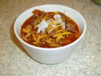 Low Carb Chili picture