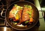 Matambre - Argentine rolled, stuffed flank steak picture