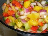 Peachy Mango Salsa picture