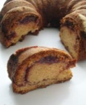 Peanut Butter Jelly Swirl Bundt Cake picture
