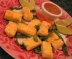 Pan-Fried Tofu with Spicy Peanut Sauce picture