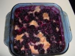 Blackberry Pudding Cake picture