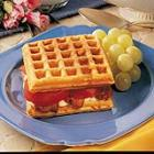 Cornmeal Waffle Sandwiches picture