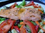 Broiled Salmon Salad picture