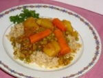 Pea Curry with Carrots and Potatoes picture
