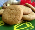 Gingernut biscuits picture