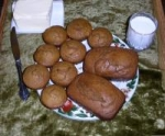Ginger Snappy Pumpkin Bread picture