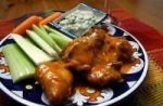 Bourbon-Marinated Buffalo Chicken Strips with Maytag Blue Dip picture