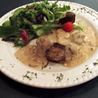 crab-stuffed filet mignon with whiskey peppercorn sauce picture