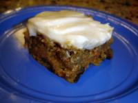 Healthy Carrot Cake picture