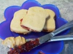 P.B.J.(sandwich-shaped ) Cookies: picture