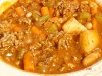 Hamburger Vegetable Soup picture