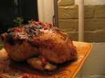 Pomegranate Glazed Cornish Game Hens picture