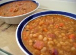 Baked-Bean Style Bean Soup picture