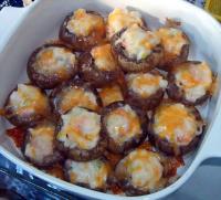 Seafood Stuffed Mushrooms picture