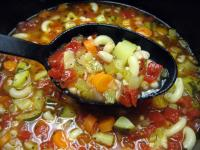 Uncle Bill's Vegetarian Minestrone Soup picture