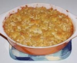 Kree's Baked Macaroni and Soy Cheese picture