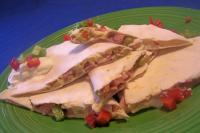 Ham and Gouda Quesadilla Snacks picture