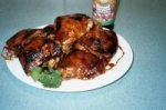 Grilled Chicken Legs with Pomegranate Molasses picture