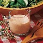 creamy garlic french dressing picture