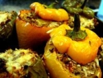 Zesty Stuffed Green Peppers picture