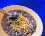 Black Bean Onion Soup picture