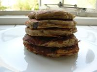 Banana, Raisin, and Oatmeal Pancakes picture