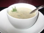 French Mushroom and Scallion Soup picture