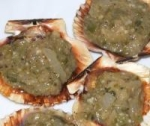 Sea Scallops in Sweet Pepper Sauce picture