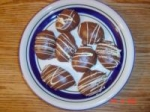 Chocolate covered marshmallow easter eggs picture