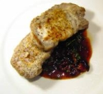 pork medallions with cherry port sauce picture