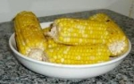 Baked Garlic Corn on the Cob picture