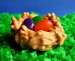 Easter Nests with Jelly Bean Eggs picture
