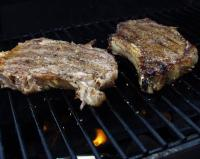 Peppered Rib Eye Steaks picture