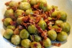 Rachael Ray's Brussels Sprouts with Bacon and Shallots picture