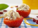 Strawberries Stuffed with Cranberry Mascarpone picture