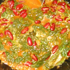Curried Mustard Greens with Kidney Beans picture
