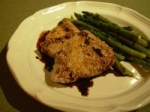Sesame Crusted Tuna Steaks With Balsamic Sauce picture