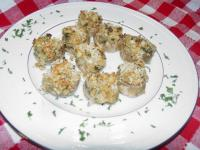 Stuffed Mushrooms Parmesan (fungi Alla Parmigana) picture