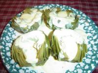 Artichokes With Lemon Rosemary Sauce picture