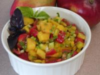 Fast Tropical Mango Salsa picture