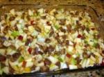 Caramel Apple Brownie Dessert picture