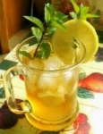 Iced Sweet Mint Tea picture