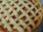 Rhubarb Crumble Pie picture