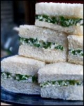 Creamy Chicken-Cucumber Party Sandwiches (Canapes) picture