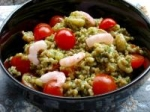 Pesto Farro With Cherry Tomatoes picture