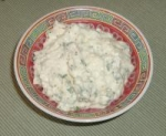 blue cheese & horseradish hamburger sauce picture